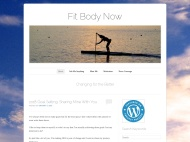 Forever WordPress Theme example