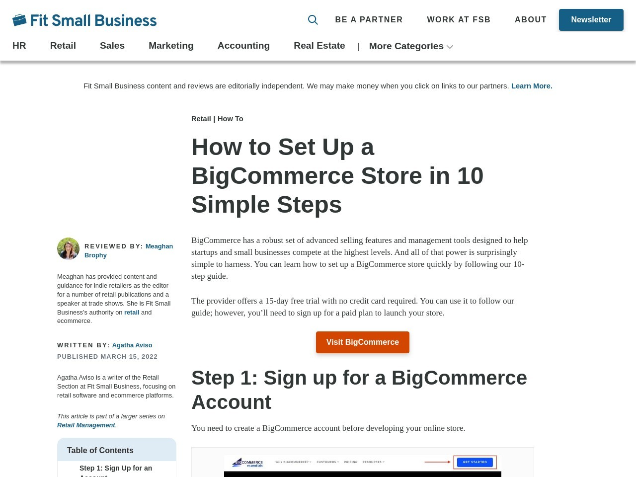 How to Set Up a BigCommerce Online Store in 9 Simple Steps