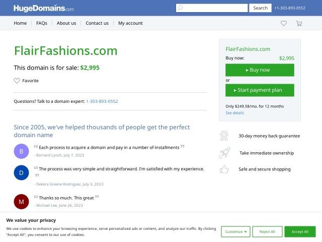 flairfashions.com