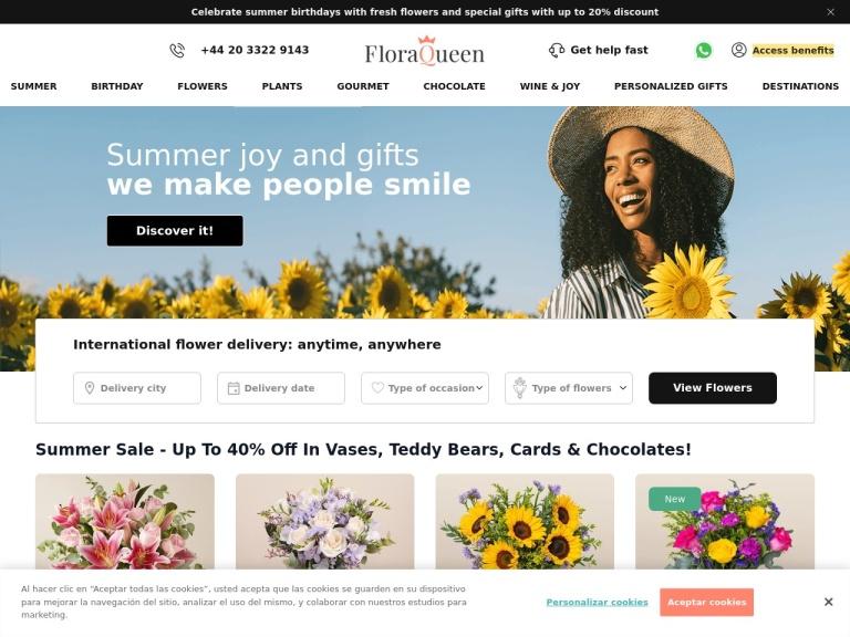 Floraqueen screenshot
