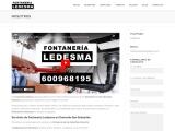 Fontanería Ledesma, de San Sebastián