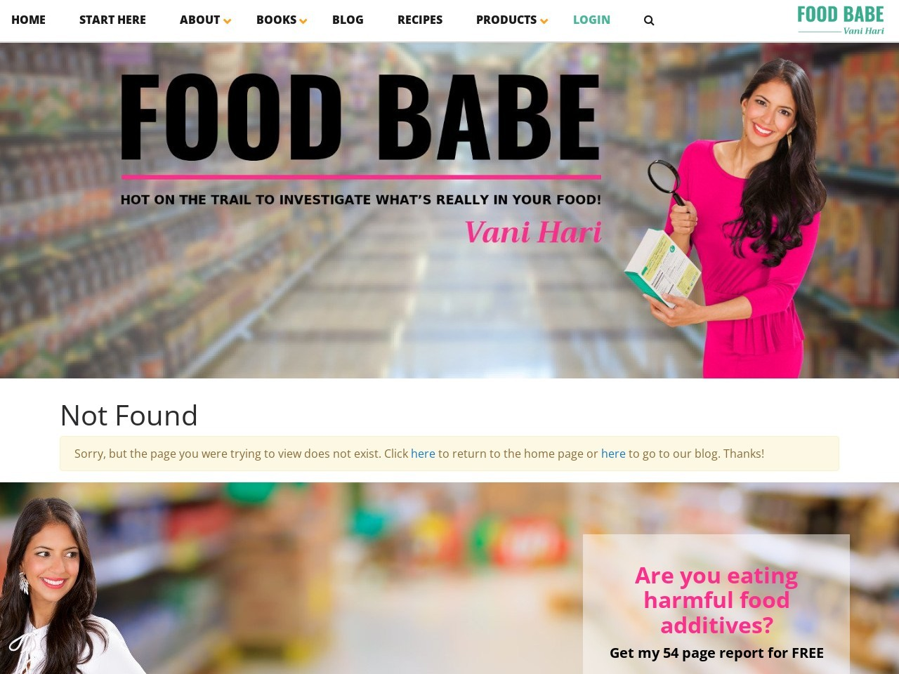 Just For You: Free Food Babe Holiday Meal Guide! (Offer Expires Tomorrow).
