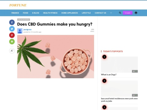 Do CBD Gummies Make You Hungry