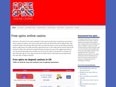 freespinsonlinecasino.co.uk