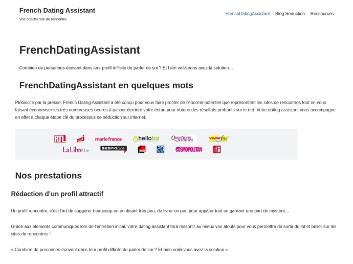 French Dating Assistant
