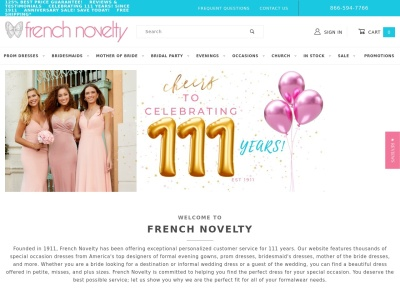French Novelty Reviews