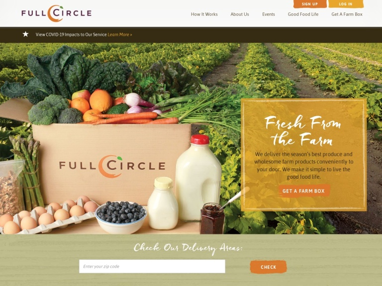 Full Circle Farms screenshot
