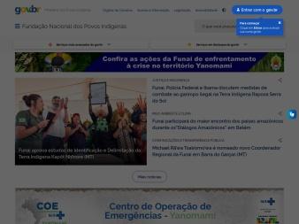 funai.gov.br screenshot