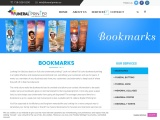 Fully Customized  color bookmark printing services in New York