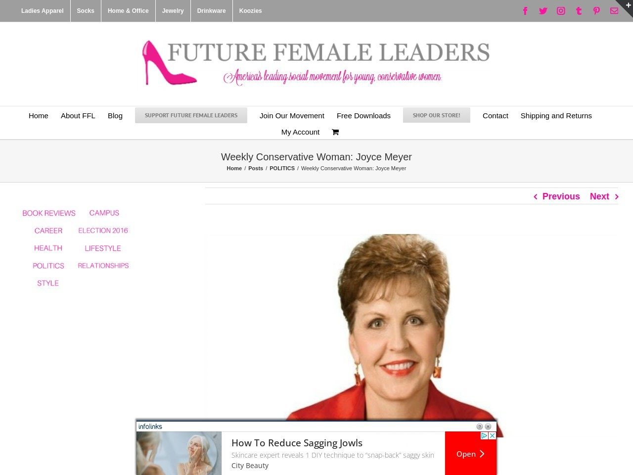 Weekly Conservative Woman: Joyce Meyer – Future Female …