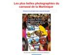 LES BELLES PHOTOGRAPHIES DU CARNAVAL MARTINIQUAIS