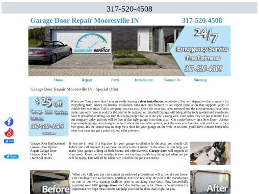 Garage Door Repair Mooresville