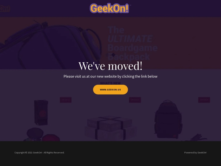 GeekOn screenshot