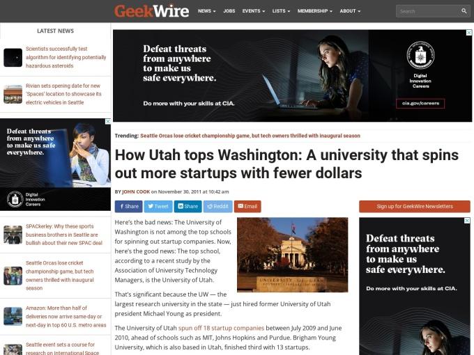 http://geekwire.com/2011/utah-tops-washington-university-spins-startups