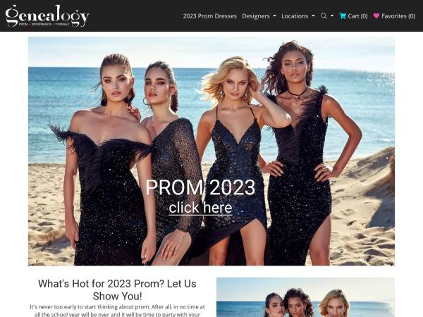 genealogydresses.com