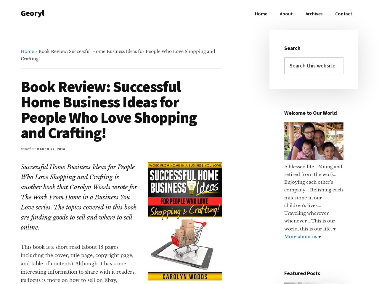 Book Review: Successful Home Business Ideas for People …