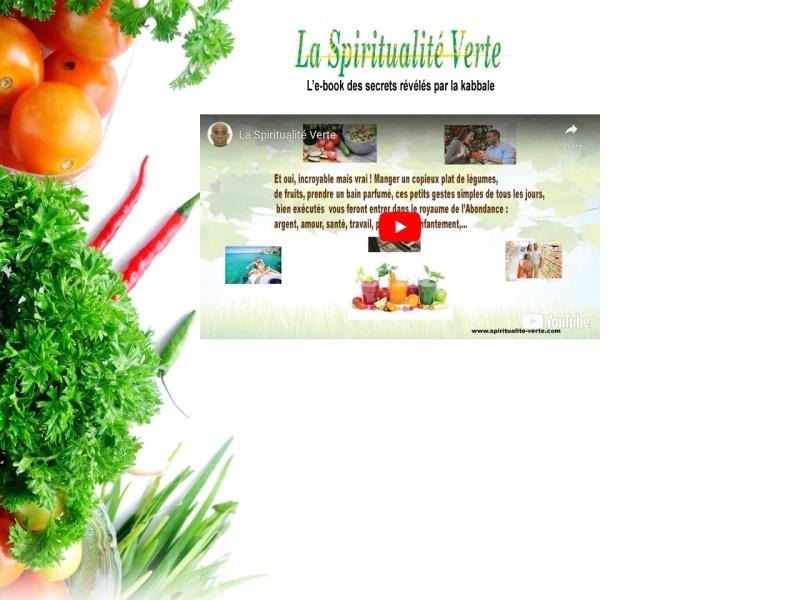 la spiritualite verte