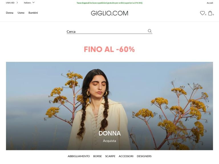 Codice sconto Giglio screenshot