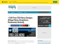 +108 Free CSS Menu Designs {Mega Menu, Dropdown, Horizontal, Vertical}