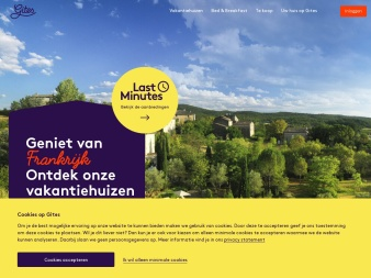 gites.nl screenshot
