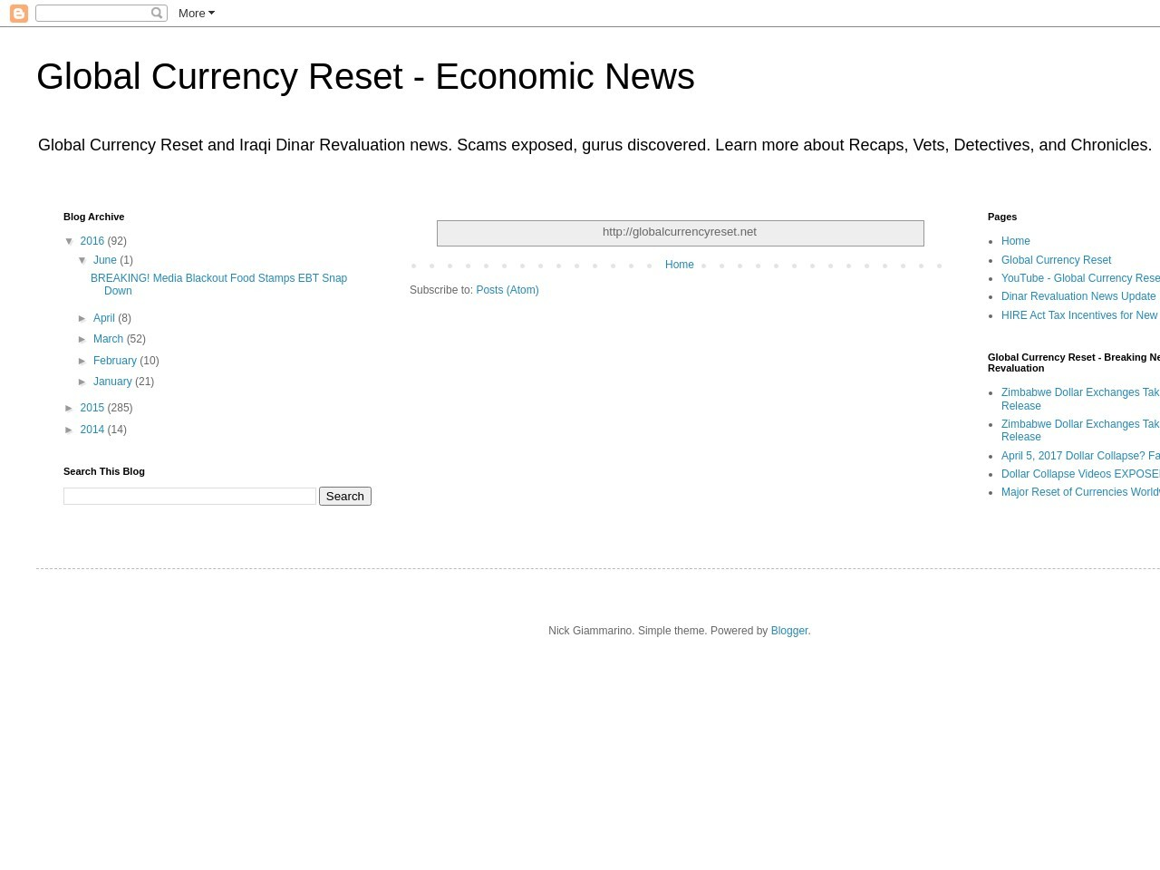 Global Currency Reset – Overview: Clueless When It Comes …