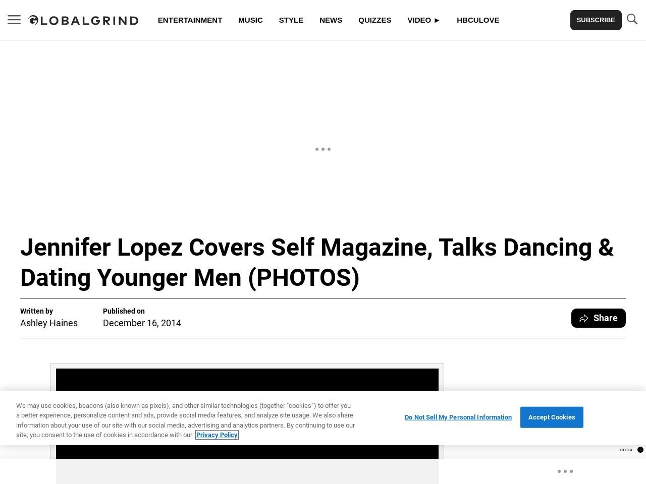 Jennifer Lopez Covers Self Magazine, Talks Dancing & Dating