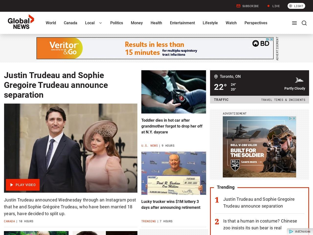 Memorials for Paris attacks planned for Winnipeg – Global …