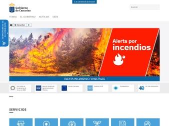 gobiernodecanarias.org screenshot