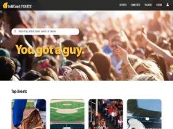 GoldCoastTickets.com screenshot
