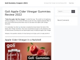 Goli gummies review 2021 | Goli gummies coupon