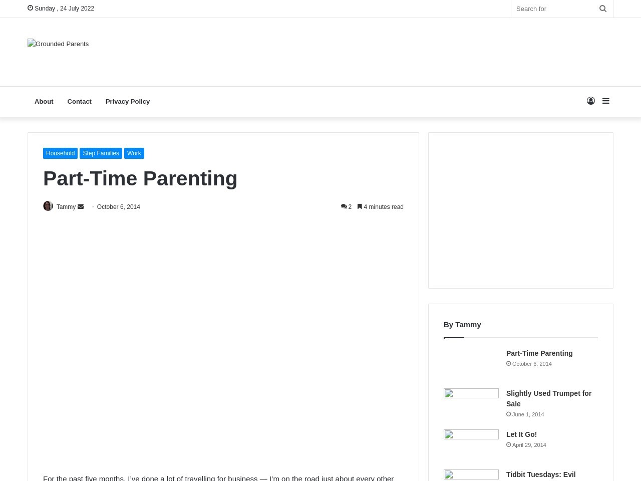 Grounded Parents | Part-Time Parenting