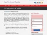 PRP Therapy for Hair Loss Mumbai | PRP Hair Transplant in Mumbai | Hair Treatment Mumbai