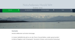 haraldwitt.de Vorschau, Naturheilpraxis Harald Witt