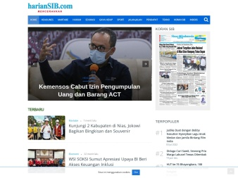 hariansib.com screenshot