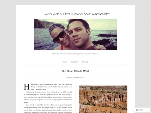 Heather & Fred's Excellent Adventure using the Duet WordPress Theme