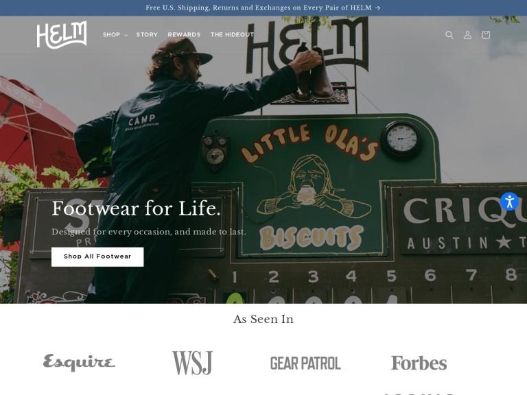 HELM Boots screenshot
