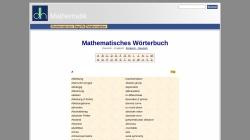 henked.de Vorschau, Mathematisches Wörterbuch