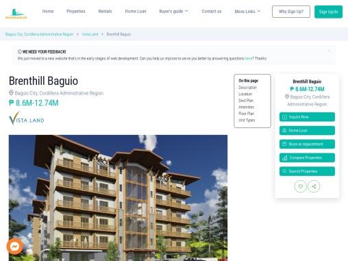 Brenthill Baguio – Condominium for Sale in Yangco Road