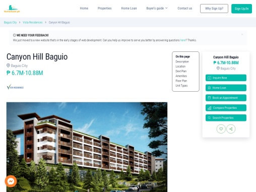 Canyon Hill – Condominium for Sale in Baguio City