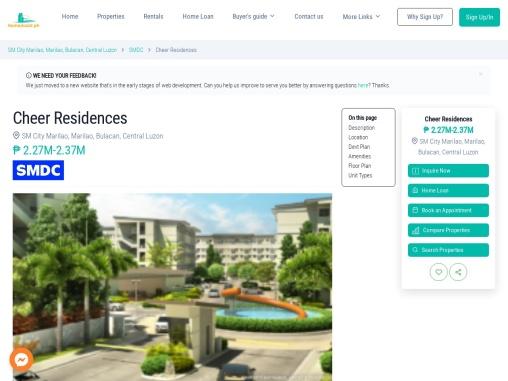 Cheer Residences – Condo for sale in Marilao, Bulacan