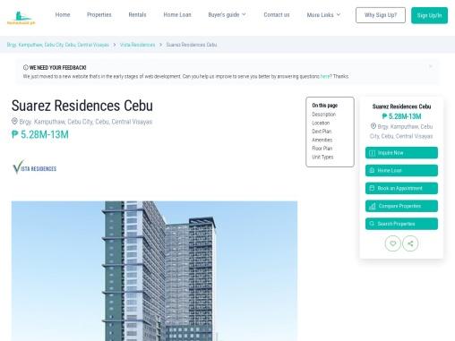 Suarez Residences – Condominium for Sale in Cebu