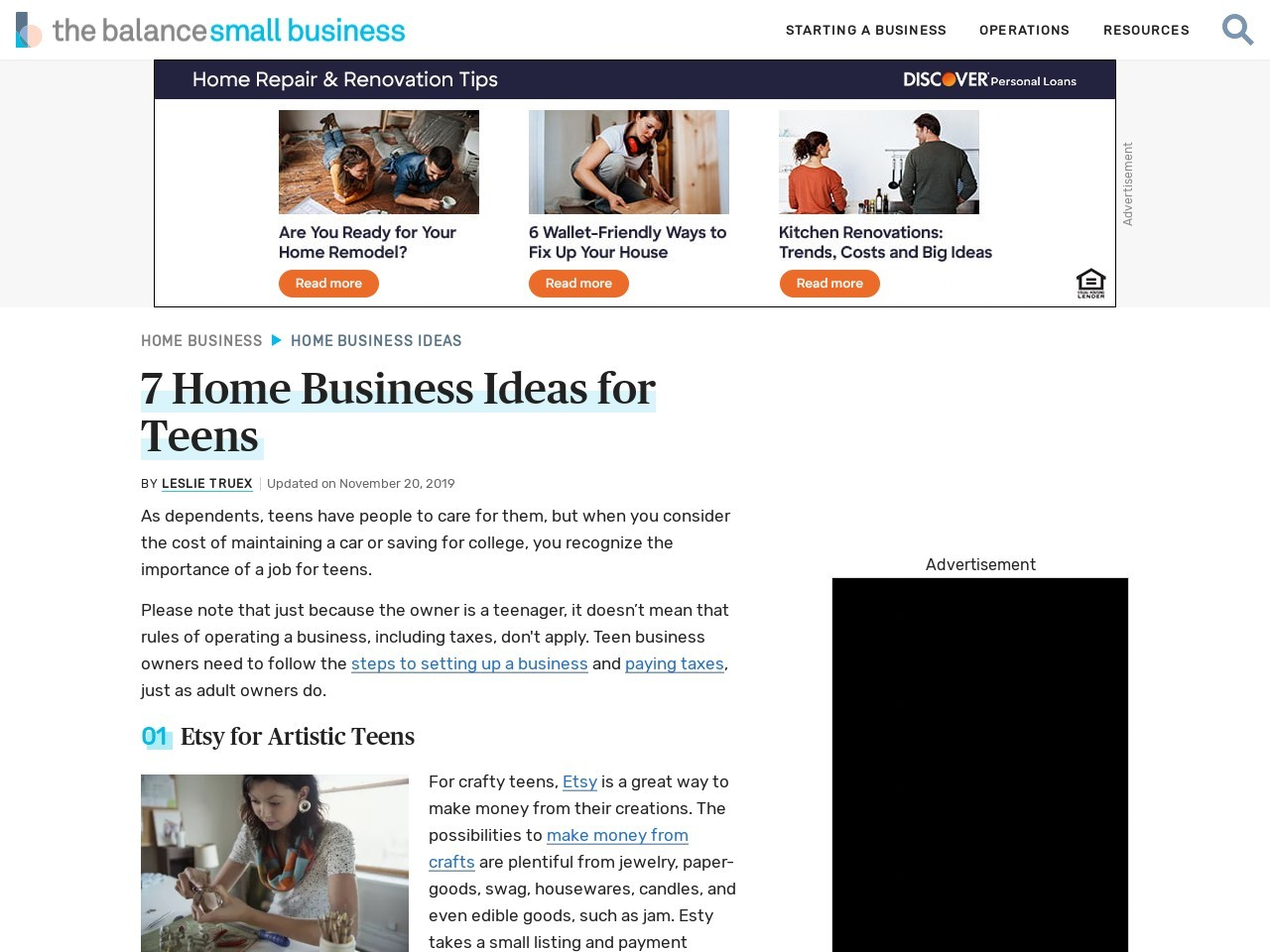 Help Your Child Start a Home-Based Business