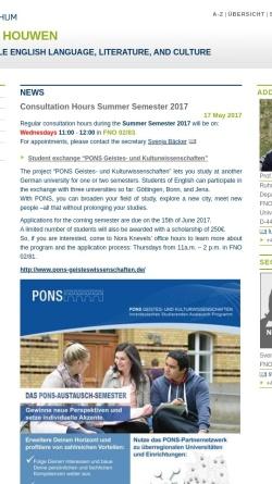 Vorschau der mobilen Webseite homepage.ruhr-uni-bochum.de, Prof. Dr L.A.J.R. Houwen