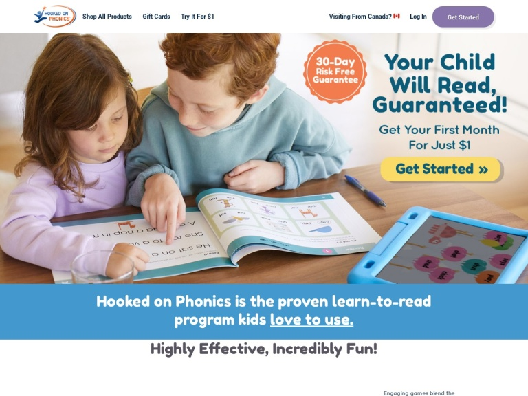 Hooked On Phonics Coupon Codes & Promo codes