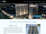 T Homes By T&T Group – India's first digital home in Siddharth Vihar, Ghaziabad