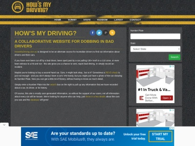 http://howsmydriving.com.au