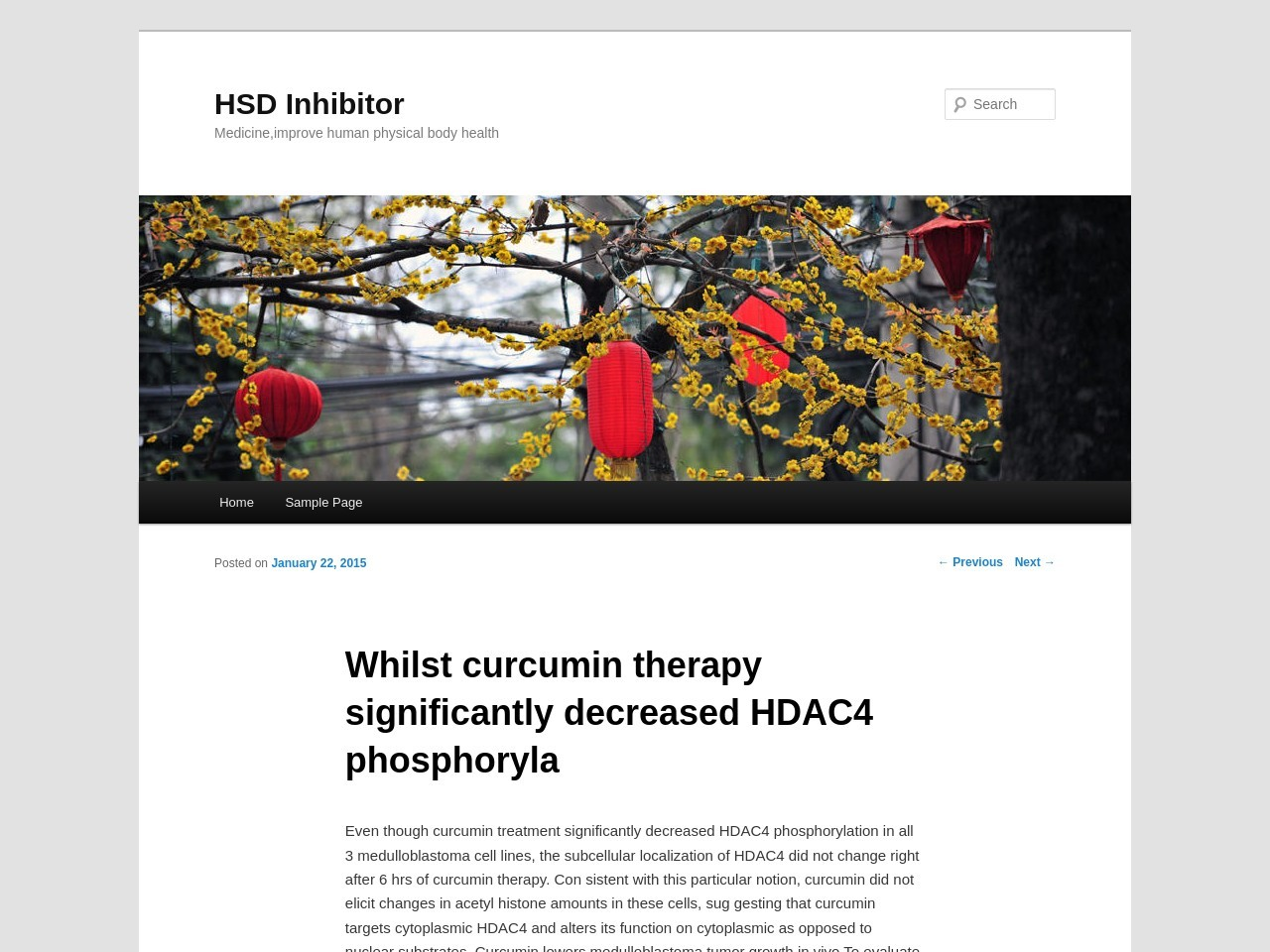Whilst curcumin therapy significantly decreased HDAC4 …