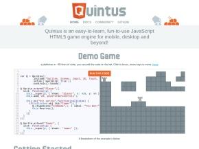 Quintus JavaScript HTML5 Game Engine