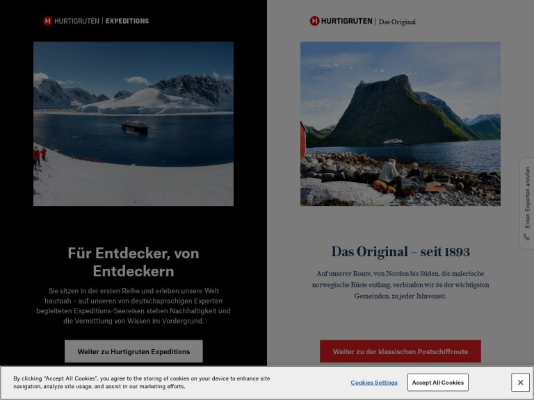 Hurtigruten - De screenshot