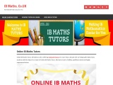 Ib Maths TutorsIB Maths Tutors, IB Maths Classes, IB Maths Teachers, IB Mathematics Tutors, IB Mathe
